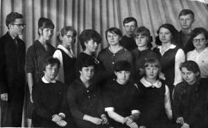 """Школьное математическое общество """"Интеграл"""", 1968 год"""