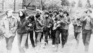 1981 год. Десятиклассники в трудовом лагере