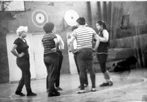 4 октября 1986 года. Волейбольный матч. Команда учителей