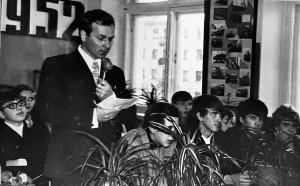 Ломоносовские чтения открывает ЛМ.Григорьев, учитель географии, инициатор создания и руководитель музея