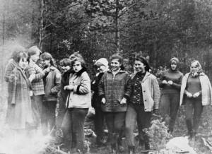 Школьный турслет 1967 год