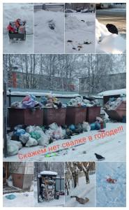 Скажем нет свалке в городе Жеребцов